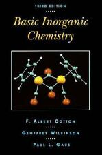 Basic Inorganic Chemistry by Geoffrey Wilkinson, Paul L. Gaus and F. Albert Cot…