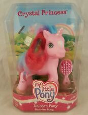 MY LITTLE PONY UNICORN PONY SUNRISE SONG CRYSTAL PRINCESS 2006 HASBRO G3 NEW