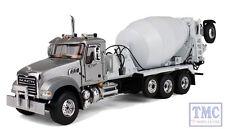 50-3335 1st Gear Mack Granite with McNeilus Bridgemaster Mixer Silver & White