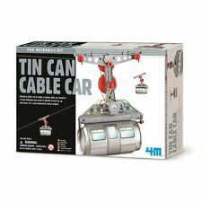 Tin Can Cable Car Science Nature Educational Toy Games Gift