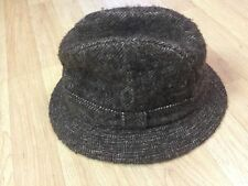 Vintage Jacob Wool Tweed Fedora Made In Great Britain Size 7 1343302444d3
