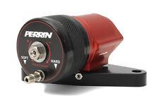 PERRIN Adjustable Recirculating BLOW OFF VALVE BOV 02-07 WRX / 04-16 STi (Red)