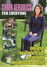 Chair Aerobics for Everyone Low Impact Seated Workout DVD *New Unopened*
