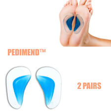 Shoe Inserts Plantar Fasciitis Arch Support Gel Insoles Pedimend™ 2 Pairs