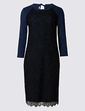 M&S Per Una Cotton Lace Sweater  Dress 8/10/12/14/16/18/20 RRP £45