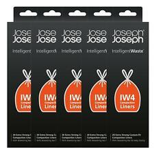 Joseph Joseph IW4 Intelligent Waste Bin Liners – 100 Bags – 90 Litres