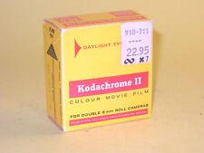 Kodachrome II - vintage unexposed 8mm movie film - 25ft (7.62m)