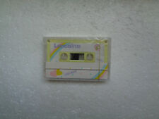 Vintage Audio Cassette LENCO Time C-60 * Rare From Hong Kong 1980's * Yellow