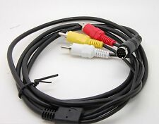 5FT 7Pin S-Video Male To 3 RCA Male Composite Video AV Cable For PC TV Laptop_sx