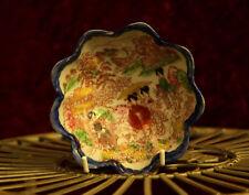 Antico Asiatico Cinese dipinto a mano/Oriental smalti/ceremic ciotola di riso