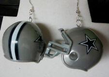 NORA WINN BIG UNIQUE Dallas Cowboy Earrings 925 NFL Football  Helmet