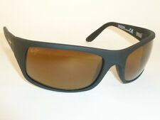 Brand New Authentic  Polarized  MAUI JIM PEAHI  Sunglasses H202-2M Bronze Lenses