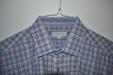 ALEX CANNON Multi color plaid shirt Size Large