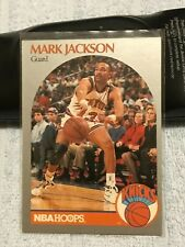 1990-91 NBA Hoops Base Mark Jackson RARE w/ Menendez Brothers in background (NYK