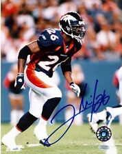 "CLINTON PORTIS ""BRONCOS"" AUTOGRAPHED 8 X 10 COLOR PHOTO MOUNTED MEMORIES HOLO"