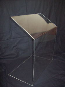 Angled - Sneeze Guard Food Screen Cake Display Counter Protection Market Stall