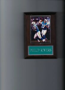 PHILIP RIVERS PLAQUE SAN DIEGO CHARGERS FOOTBALL NFL