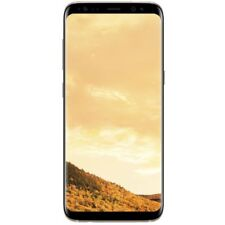 Samsung Galaxy S8 64GB Gold Bar Mobile Phones