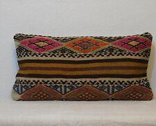embroidery pillow kilim lumbar pillow case,pillow for sofa 12x24 pillow cover