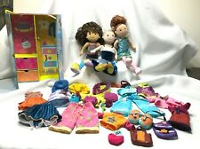 Groovy Girls Set includes 3 dolls, Wardrobe Carrying Case and Accessories
