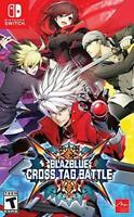 Blazblue Cross Tag Battle Nintendo Switch Brand New