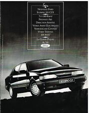Publicité Advertising 1987 Ford Scorpio 2.0 CLX
