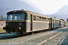 OBB railbus 5081.01 Kotschach-Mauthen, 1969 Austrian Rail Photo ER1238