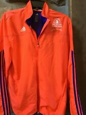 Rare 2015 Boston Marathon Official Adidas Coral Baa Windbreaker Jacket Medium