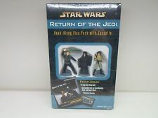 Star Wars Return Of The Jedi Read Along Play Pack Cassette Book Figurines 1997