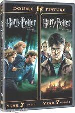 Harry Potter Deathly Hallows Part I & II (2-Disc Set Widescreen DVD) Emma Watson