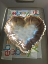 WMF-IKORA  German , heart-shaped silverplated tray or dish, used