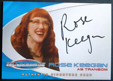 Thunderbirds (The 2004 Movie) - ROSE KEEGAN as Transom - Autograph Card