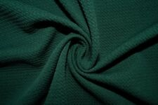 Hunter Green #30 Bullet Double Knit Stretch Polyester Lycra Spandex Fabric BTY