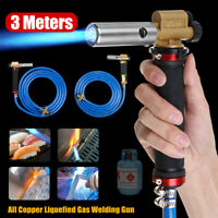 Electronic Ignition Gun Head Liquefied Gas Welding Gun + 3 meters Tube For