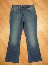 Womens Levi's 515 Boot Cut Mid Rise Medium Stretch Denim Jeans 8 S Short GREAT!