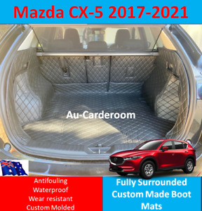 Custom Made Trunk Boot Mats Liner Cargo Mat Cover For Mazda CX-5 2017-2021