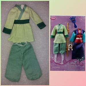 Disney Mulan doll collection accessories pack OUTFIT PARZIALE vedi leggi