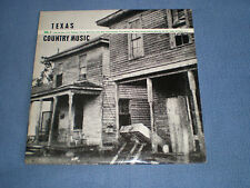 TEXAS COUNTRY MUSIC VOL.3 (BLUES) - NEAR MINT 1970 ROOTS LABEL COMPILATION LP