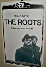 The ROOTS in Concert Show Poster Denver Co July 20th 2018 FILLMORE Very COOL