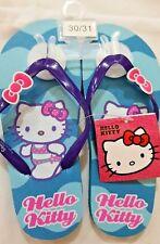Infradito Hello Kitty Azzurro - Sanrio - numero 30/31 - Nuovi