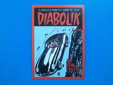 Figurine Panini Diabolik Il Re del Terrore Figurina n. 74