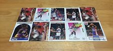 CHARLES SHACKLEFORD LOT OF 10 BASKETBALL CARDS NEW JERSY NETS CENTER PHIL 76ERS