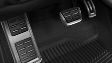 Original Audi A1 8X Pedalset Edelstahl Pedalkappen Fußstütze - 8X1064205C