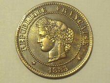 5 cts Cérès 1883 A