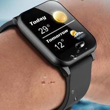 Водонепроницаемые умные часы пульсометр браслет-повязка на запястье для IOS Android