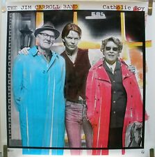 JIM CARROLL BAND CATHOLIC BOY 1980 VINTAGE PUNK MUSIC RECORD STORE PROMO POSTER