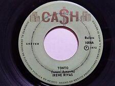 "IRENE RIVAS - Tonto / No Te Dejare De Amar RARE 1972 Mexico 7"" CASH RECORDS"