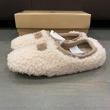 UGG Women's Birche 1007721 Shearling Slip on Slippers Size 5 Natural