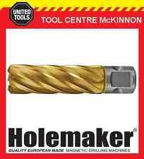 HOLEMAKER 30mm x 50mm UNIVERSAL SHANK GOLD MAG DRILL CUTTER – SUIT MOST BRANDS