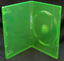 5 - Xbox 360 Cases - Translucent Lime Green - Brand New